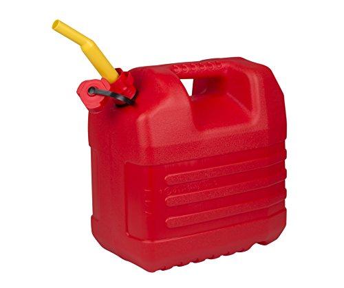 Eda Plastiques DAVJER20 Jerrican pour Essence Plastique Rouge 20 L