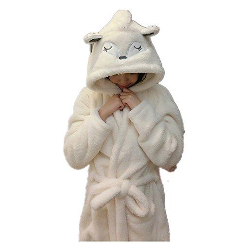 Kenmont Damen Bademäntel Nachthemd Nachtwäsche Morgenmantel Schlafanzüge Tier Halloween Cosplay Kostüm Pyjama (L for 39