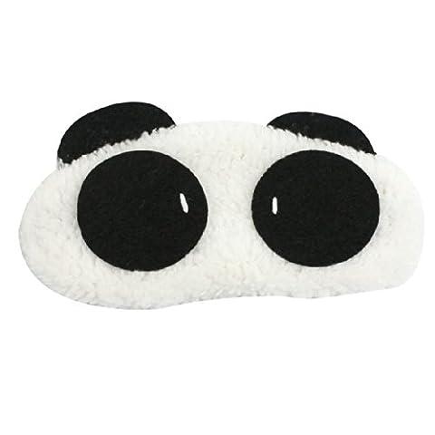 SODIAL (R) 2X Panda Face Travel Sleep Sleeping Eye Mask (Sonno Eye Mask)