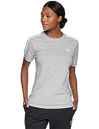 ead54931218 adidas Originals Womens 3 Stripes Tee Short Sleeve T-Shirt