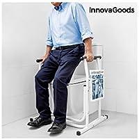 InnovaGoods IG115694 Soporte de seguridad con revistero para inodoros