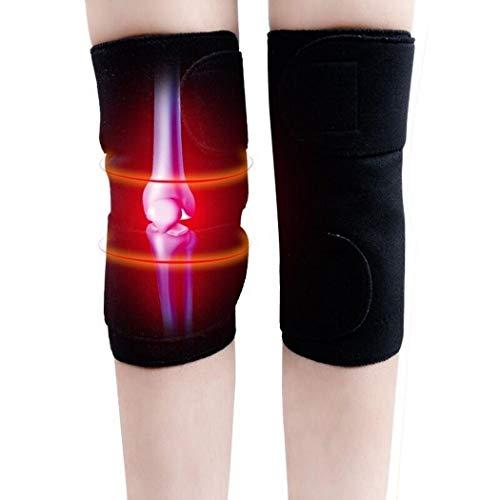 Acecoree Rodillera Terapia Térmica Magnética Turmalina Autocalentable Aliviar el Dolor Muscular Piedras y minerales