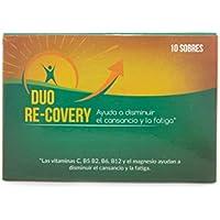 Duo Recovery (pack 10 sobres) -- RECUPERA LA ENERGÍA FÍSICA Y MENTAL Y AYUDA A PROTEGER EL HIGADO -- Con Vitaminas.