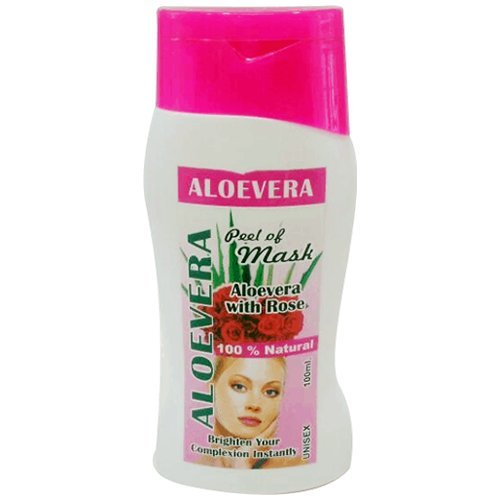 AryanShakti Peel Off Mask Aloe Vera with Rose  available at amazon for Rs.90
