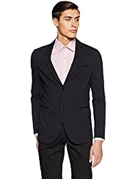 United Colors of Benetton Men's Peak Lapel Regular Fit Blazer