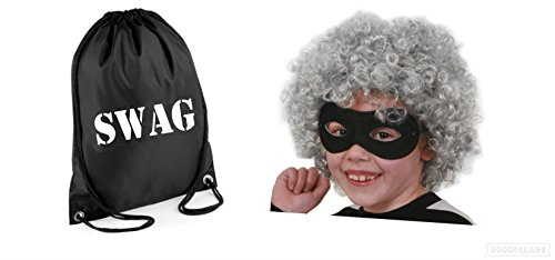 Book Character Day Kostüm - Seemeinthat Gangster Granny Burglar Fancy Dress