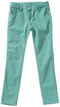 Tommy Hilfiger – Pantalones Sophie Skinny, niña, Color: Verde Esmeralda