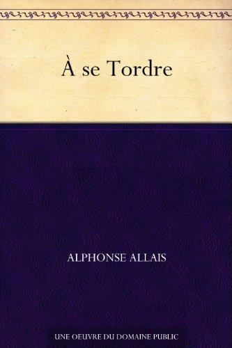 Couverture du livre À se Tordre