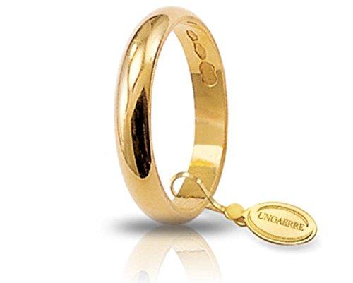 Fede Nuziale Unoaerre Classica da 3 grammi oro giallo 18kt