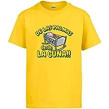 Camiseta de Las Palmas desde la cuna Gran Canaria fútbol