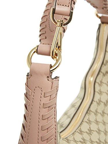 Michael Kors Lauryn 30S7GL0L3V Damen Tasche Handtasche Abendtasche Schultertasche Henkeltasche Umhängetasche natural fawn