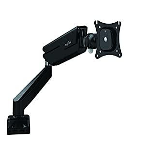 suptek md7b Full Motion Support avec support bureau et ressort à gaz pour écrans d'ordinateur 43,2cm-27LED TV LCD à panneau plat de 2.2lbs jusqu'à 22LB