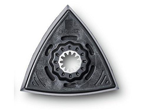 FEIN 63806136220 Platorello SL Triangolare Forato, Confezione da 2
