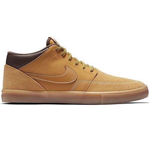 Nike SB Portmore II SLR M Bota, Chaussures de Skateboard Mixte Adulte, Multicolore Bronze/Gum Light...