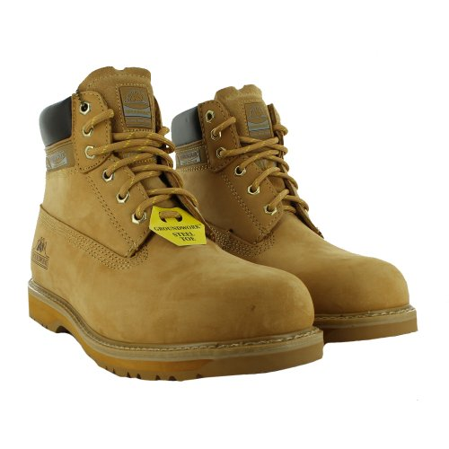Footwear Sensation, Scarpe antinfortunistiche uomo Giallo (Miele)