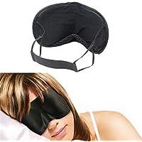 nicebuty schwarz Schlafmaske Augenmaske Sleeping Augenmaske Nap Eye Cover preisvergleich bei billige-tabletten.eu