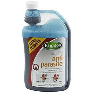 Blagdon Extra Strength Anti-Parasite Treatment for Pond Koi, 1 Litre 8