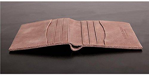 ZXDOP Brieftaschen-Männer der ledernen Mappe-Retro- Männer kurze Leder-Beutel der Männer ( farbe : 2# ) 3#