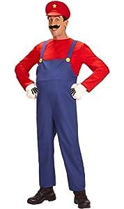 widmann-wdm08702disfraz Adulto para hombre, Color Rojo y Azul, wdm08702