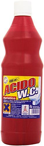 Acido - W.C, Soluzione di Acido Cloridrico - 1000 ml