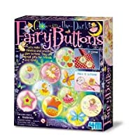 Glow in the Dark Fairy Buttons - Girl Girls Child Children Kids - Decorative Set - Latest Birthday Gift Present Fun Games & Toys Idea Age 5+