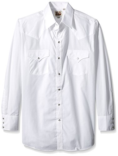 Ely /& Walker Mens Long Sleeve Embroidered Shirt