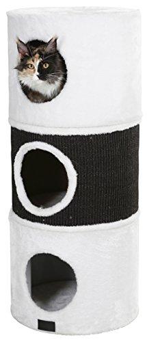 Kerbl Niki Scratch Barrel, 37.5/90 cm, White/Anthracite 2