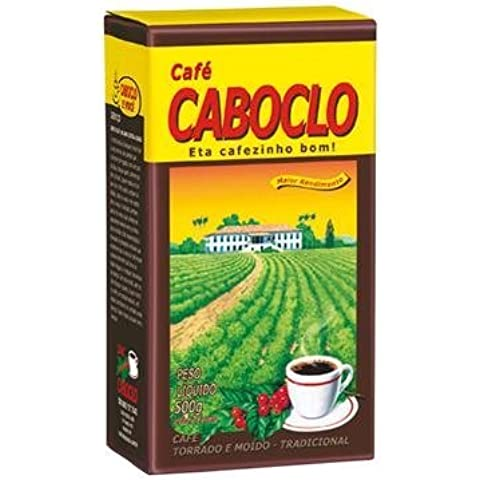 Roast n' Ground Coffee From Brazil - Caf·?? Torrado e Moido - Caboclo 17.60oz (500g) GLUTEN FREE by Cafe Do Ponto