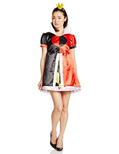 Des Landes von Disney-Maerchenland Alice Koenigin der Herzen Kostuem Damen 155-165cm (Herzen Der Kostüm Königin Disney)