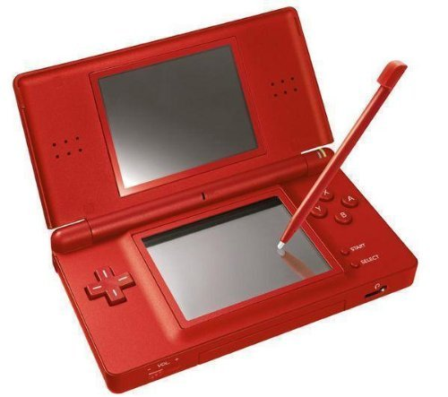 Nintendo DS Lite Handheld Console (Red) (Certified Refurbished)