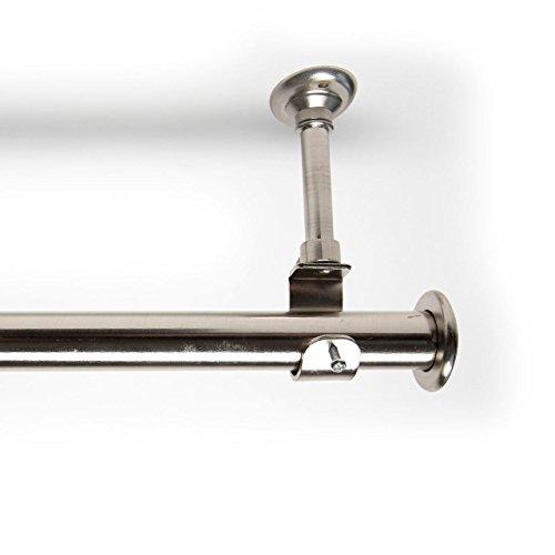 roomdividersnow-142cm-274cm-bastone-per-tende-con-supporti-argento