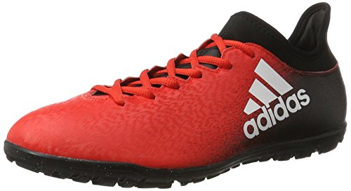 adidas X 16.3 Tf, Entraînement de football homme Rouge (Red/ftwr White/core Black)