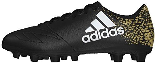 adidas X 16.4 Fxg, Entraînement de football homme Noir (Core Black/ftwr White/gold Met.)