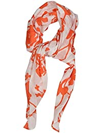 Girl's & Women's Stole & Dupatta With 100 % Cotton Floral Print ( Size- 100 X 200 Cm)