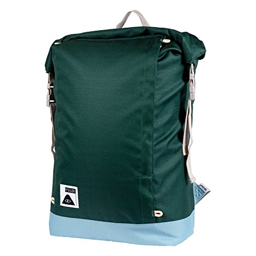 POLER Bag ROLLTOP Pack Rucksack, 48 cm, 21 L, Dark Green