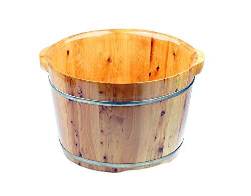 Saunakübel aus Zypressenholz