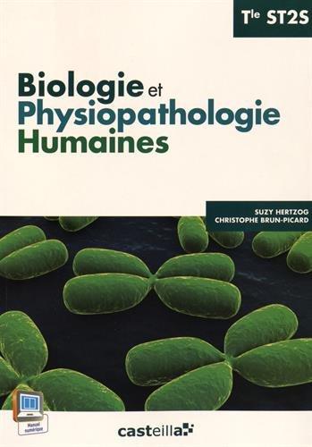 Biologie et physiopathologie humaines Tle ST2S par Suzy Hertzog