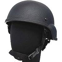 Táctico luz peso mich 2000plástico casco Airsoft Militar Paintball BK