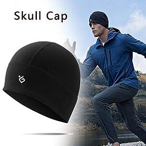 Mütze Unter Helm – Jagd-Kappen Für Herren Shadow Winddicht Mütze Fahrrad Helm Kopfbedeckung Laufen Ski-Fahren Snowboard Joggen Damen Unterziermütze