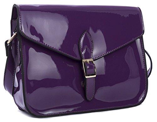 Big Handbag Shop - Borsa a tracolla donna Royal Blue