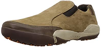 Woodland Men's Khaki Leather Loafer and Mocasssins - 10 UK/India (44 EU)