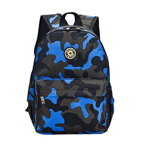 Camouflage Kinder Rucksäcke Rucksack Schulrucksack Oxford, Damen,
