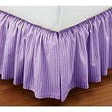 Super Soft Stripe Lavender King Size Ruf...