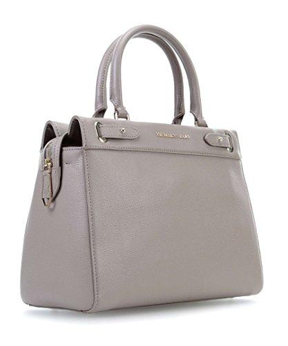 Trussardi Jeans Borsa Donna Vail Ecosaffiano Shopping Bag taupe, grau