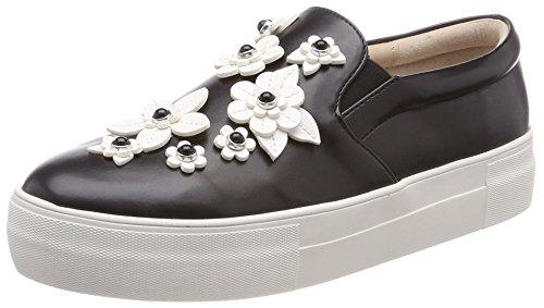 Buffalo Damen 17T01-10 Nappa PU Slip on Sneaker, Schwarz (Black 01), 40 EU