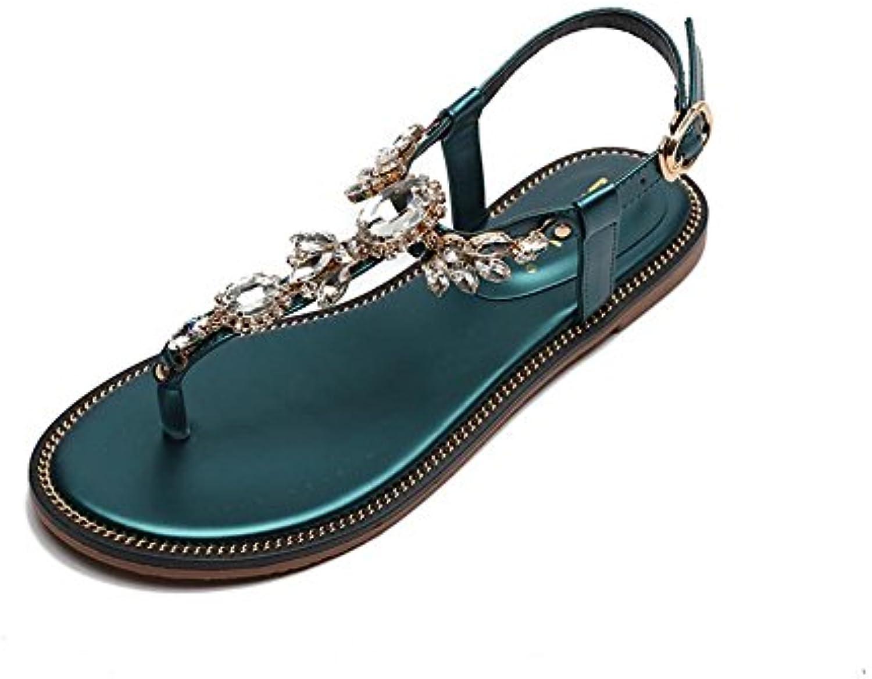 Sandali Donna Lama Piatta Piatta Piatta Calzature Scarpe Donna | Affidabile Reputazione  34d262