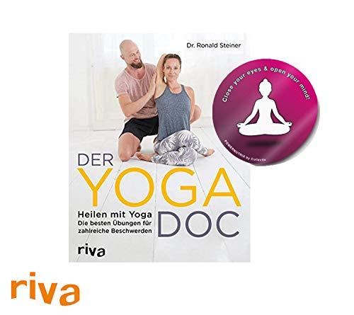 riva Der Yoga-Doc: Heilen mit Yoga - die besten Übungen für zahlreiche Beschwerden + 1 Yoga Sticker gratis -