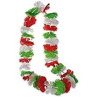 Annastore Hawaikette de Luxe Italien 74 Blüten Fankette