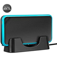 New Nintendo 2DS XL Charging Stand Charging Dock With USB Charging Cable For Nintendo New 2DS XL 2017