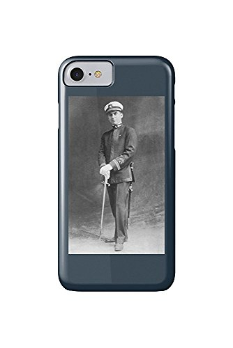 Us Navy Officer Uniform (Early US Navy Officer in Uniform Posing (iPhone 7 Cell Phone Case, Slim Barely There))